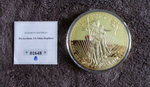 LARGE HISTORICAL GOLD EAGLE   1933 COMMEMORATIVE PROOF COIN