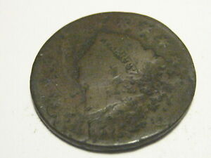 1831 CORONET HEAD LARGE CENT CULL