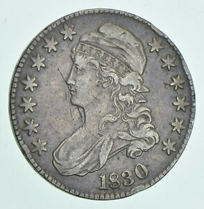 1830 CAPPED BUST HALF DOLLAR  5597