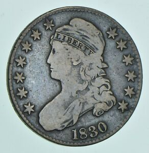 1830 CAPPED BUST HALF DOLLAR  5605