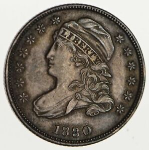 1830 CAPPED BUST DIME   CIRCULATED  1747