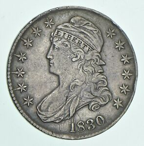 1830 CAPPED BUST HALF DOLLAR  5599