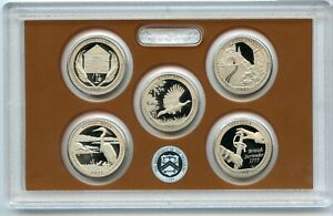 2015 AMERICA THE BEAUTIFUL QUARTER PROOF SET ATB NATIONAL PARK US MINT OGP COIN
