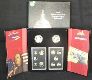 Click now to see the BUY IT NOW Price! 2006 UNITED STATES MINT AMERICAN LEGACY COLLECTION PROOF 12 COIN SET & COA LF366