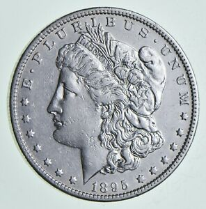 1895 O MORGAN SILVER DOLLAR  6867