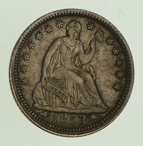 1853 SEATED LIBERTY HALF DIME   CIRCULATED  8609