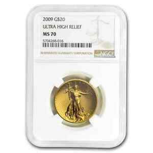Click now to see the BUY IT NOW Price! 2009 ULTRA HIGH RELIEF GOLD DOUBLE EAGLE MS 70 NGC   SKU204318