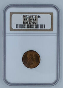 Click now to see the BUY IT NOW Price! 1909 S VDB 1C LINCOLN WHEAT CENT NGC MS 66 RB