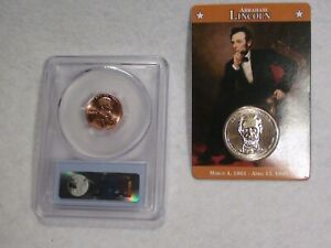 ABRAHAM LINCOLN 2010 D PCGS SHIELD CENT &2010 WILLABEE &WARD PRESIDENTIAL DOLLAR