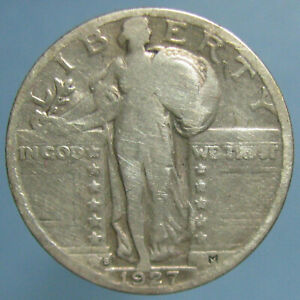 Click now to see the BUY IT NOW Price! KEY DATE 1927 S STANDING LIBERTY QUARTER   GOOD TO GOOD CONDITION