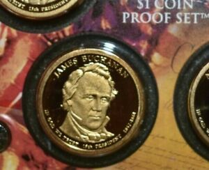 2010 S DEEP CAMEO JAMES BUCHANAN PRESIDENTIAL PROOF DOLLAR