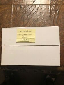 2004 D 25C MICHIGAN QUARTER BAG OF 100 BU QUARTERS SEALED US MINT BOX QL0 $25.