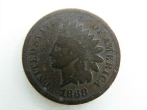 1868 INDIAN HEAD CENT PENNY    FREE SHIP