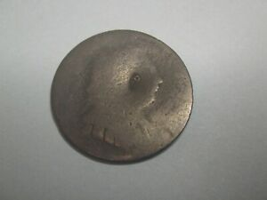 EARLY COLONIAL COPPER COIN NEW YORK OR KING GEORGE ?