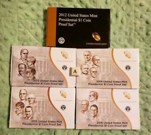 2016 United States Presidential Proof Set With Box and COA