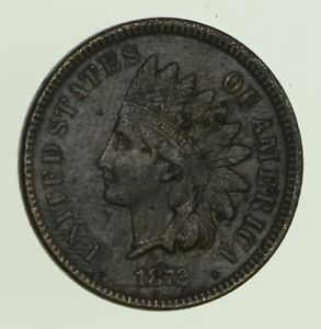 1872 INDIAN HEAD CENT   CIRCULATED  0047
