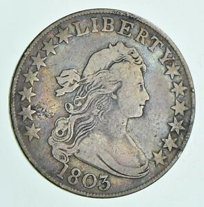 1803 DRAPED BUST HALF DOLLAR  6117