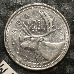 1994 CANADA  25 CENTS  5824M