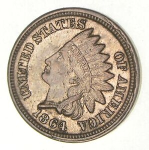1864 INDIAN HEAD CENT  2825
