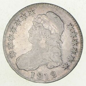 1812 CAPPED BUST HALF DOLLAR  3334