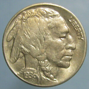 Click now to see the BUY IT NOW Price! LIGHTLY TONED BU 1936 S BUFFALO NICKEL