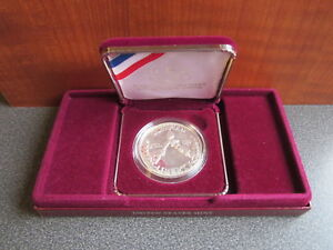 UNITED STATES MINT 1988 OLYMPIC COINS   1988 PROOF SILVER DOLLAR