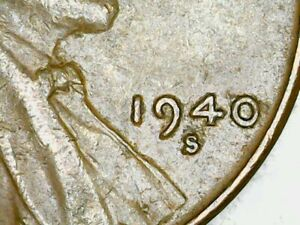1940 S LINCOLN WHEAT CENT