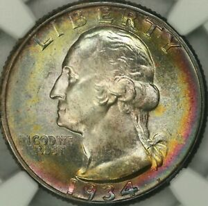 Click now to see the BUY IT NOW Price! 1934 D WASHINGTON QUARTER NGC MS67    TOP POP  SINGLE FINEST