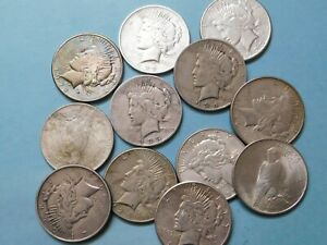 Click now to see the BUY IT NOW Price!  1  $1.00 MIXED DATED 1921 1935 PEACE DOLLAR COIN CLASSIC 90  SILVER DOLLAR