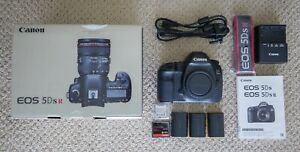CANON EOS 5DS R 5DSR 50.6MP DIGITAL SLR CAMERA USED WITH EXTRAS <23 000 SHUTTER