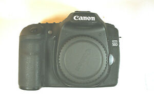 CANON EOS 50D 15.1MP DIGITAL SLR CAMERA   BLACK  BODY ONLY