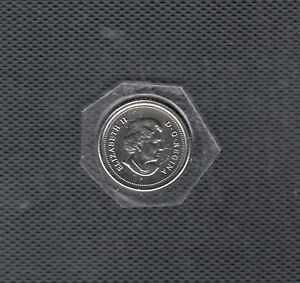 G 6 CANADA 10C COIN 2005P BU FROM A ROYAL CANADIAN MINT SET $5.00