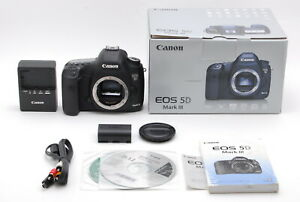 EXCELLENT    IN BOX CANON EOS 5D MARK III 22.3MP DIGITAL SLR CAMERA FROM JAPAN
