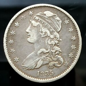 1835 CAPPED BUST QUARTER 25C |   SILVER       XF      312