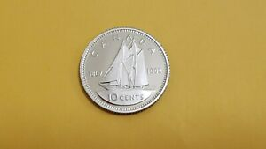 1992 PROOF CANADIAN DIME