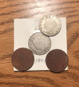 LOT OF FOUR LIBERTY