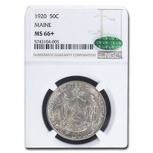 Click now to see the BUY IT NOW Price! 1920 MAINE CENTENNIAL HALF DOLLAR MS 66  NGC CAC   SKU213583