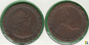 ISLA DE MAN   ISLE OF MAN. 1 PENIQUE  PENNY  DE 1813.
