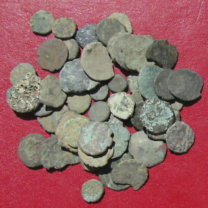 Click now to see the BUY IT NOW Price! FIFTY SMALL CULL AND CHIPPED ANCIENT ROMAN BRONZE COINS   CHEAP