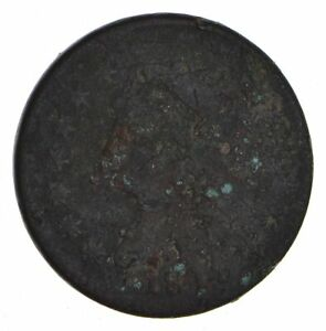 1813 CLASSIC HEAD LARGE CENT   CIRCULATED  9901
