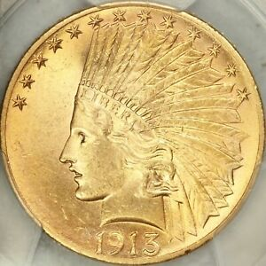 Click now to see the BUY IT NOW Price! 1913 S $10 INDIAN EAGLE PCGS MS64
