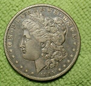A325 KEY DATE 1895 S MORGAN SILVER DOLLAR HIGH GRADE