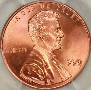 Click now to see the BUY IT NOW Price! 1999 WIDE AM LINCOLN CENT PCGS MS68RD   POP 1/0