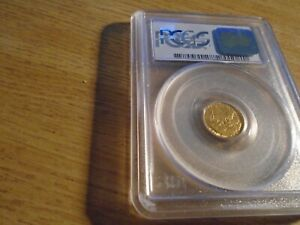 Click now to see the BUY IT NOW Price! $ 1 GOLD GRANT PIECE MS 67 WITH CAC APPRROVAL GRADED PCGS