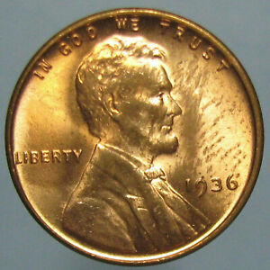 Click now to see the BUY IT NOW Price! CHOICE BU 1936 LINCOLN CENT