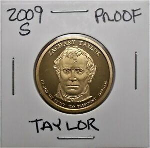 2009 S PROOF PRESIDENTIAL DOLLAR COIN Z. TAYLOR