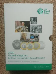 ROYAL MINT 2020 SET OUTER COIN BOX