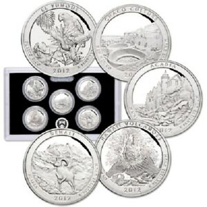 2012 S 90  SILVER PROOF  SET DEEP CAMEO   90  SILVER