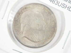 1926 P SESQUI SEQUICENTENNIAL AMERICAN INDEPENDENCE HALF ABOUT CIRCULATED  AU