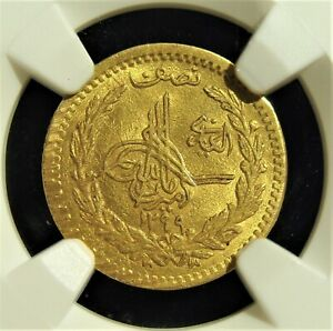 Click now to see the BUY IT NOW Price! AFGHANISTAN: AMANULLAH GOLD 1/2 AMANI SH 1299  1920  MS63 NGC.